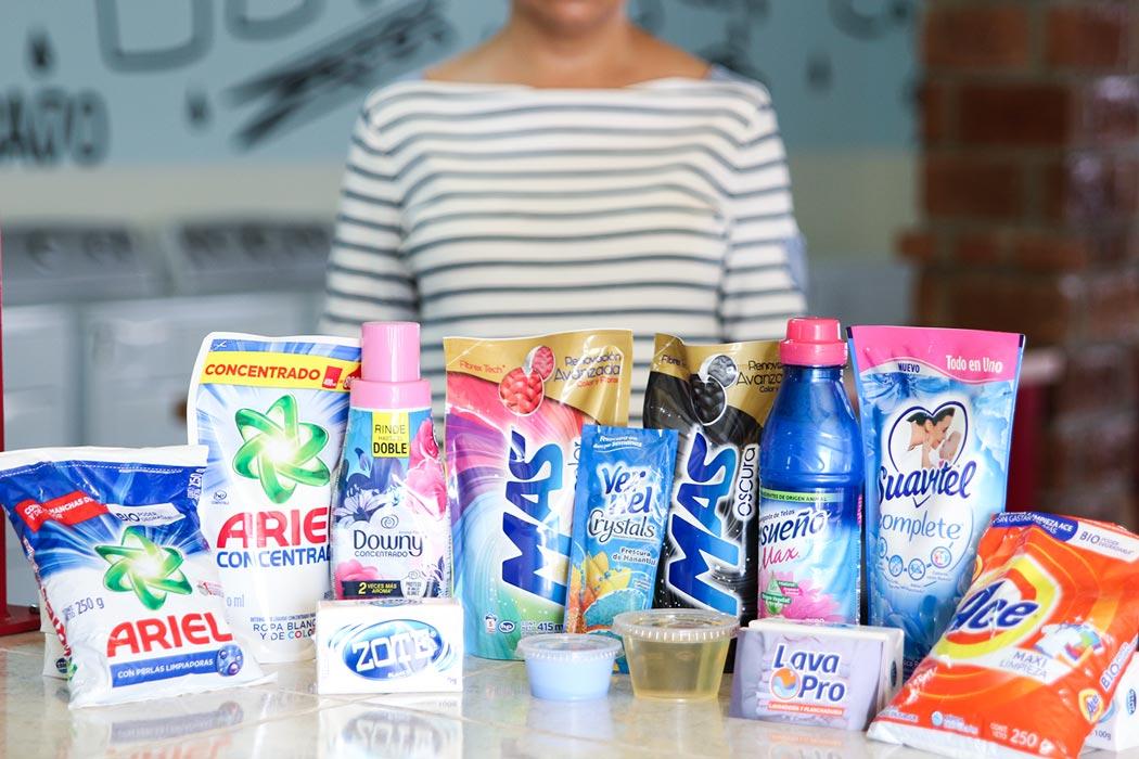 Suavizante y detergente